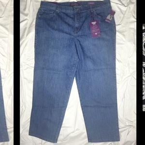 """NWT Gloria Vanderbilt """"Amanda Classic Fit"""" jeans"""